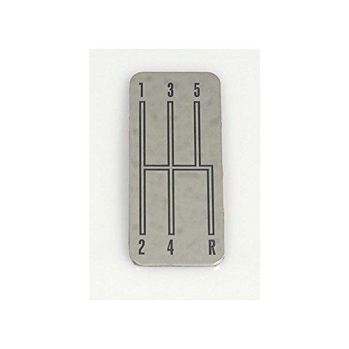 Eckler's Premier Quality Products 33-241448 Camaro Center Console Shift Plate Emblem, Console, (Shift Plate Emblem)