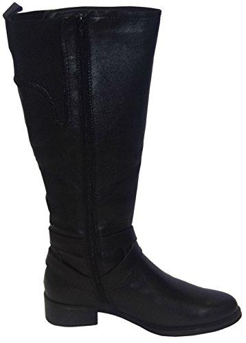 Padders Tess Ladies Boots Black