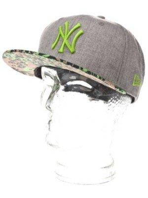 New Era New York Yankees MLB Baseball Cap-Sun Visor Tropic HEATHERGREY Lime  Green 6e9cb69542