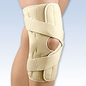 Fla 37-151LGBEG OA Arthritis Knee Brace for Right & Lateral Left, Beige, Large by FLA Orthopedics   B0068VZPYG