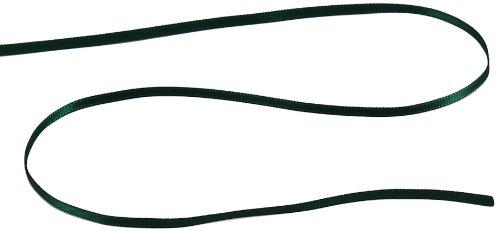 - Kel-Toy Double Face Satin Ribbon, 1/8-Inch by 50-Yard, Hunter Green