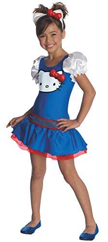 Hello Kitty Blue Romper Child Costume -