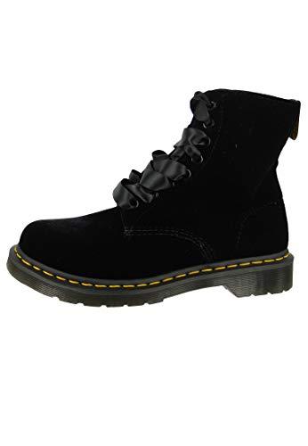 Adult's Noir Pascal Martens Dr Velvet Unisex noir 1460 Boots UTpxqgw