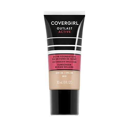 COVERGIRL Outlast Active Foundation, Classic Ivory, 1 Ounce, 1 Count