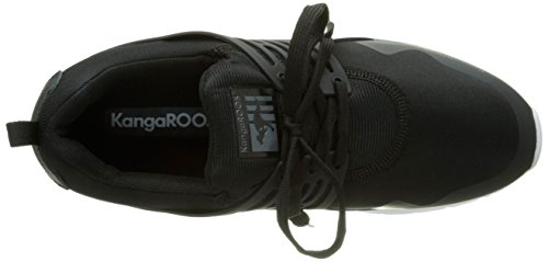 KangaROOSRunaway Roos 006 - Espadrillas Uomo Nero (Black 500)