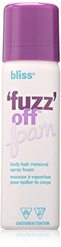 bliss Fuzz Off Foam Body Hair Removal Spray Foam 2.0 fl. Oz