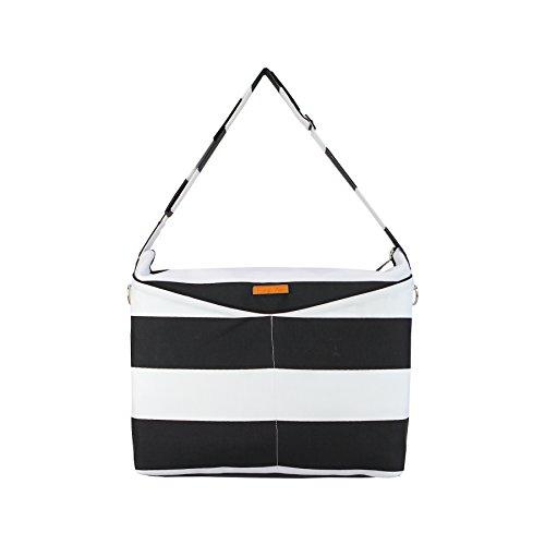 foxy-vida-prive-diaper-bag-black-stripe