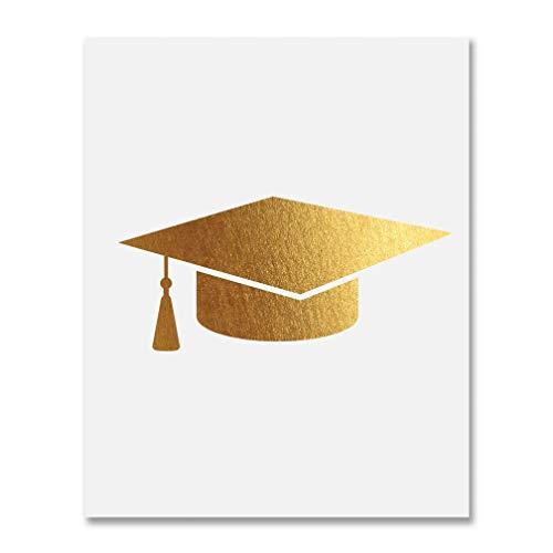 تصرف ساندي قارورة Graduation Hat Gold Findlocal Drivewayrepair Com