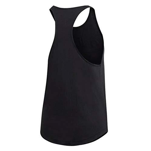 Tk white Lin Loos Donna W Canottiera Sportiva Black E Adidas IwqTx4B1