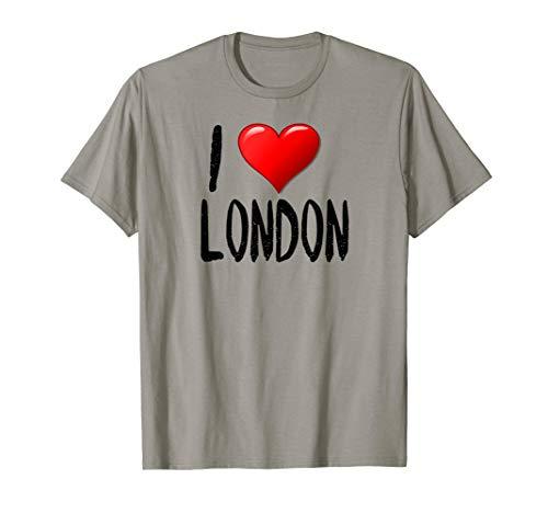 I Love London - T-Shirt - Traveler - Souvenir