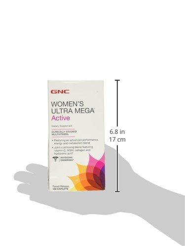 Amazon.com: GNC Womens Ultra Mega Active, 180 ea: Health & Personal Care