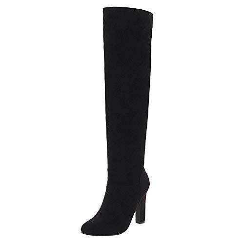 Heel Long Black Boots Taoffenwomen Shoesfashionhigh Zip ZaxzqgzwB
