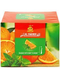 Al Fakher 250g Orange / Mint (non-tobacco) by Al Fakher