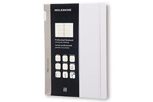 Moleskine Professional Notebook XL Hard, Aster Grey (8051272891386)