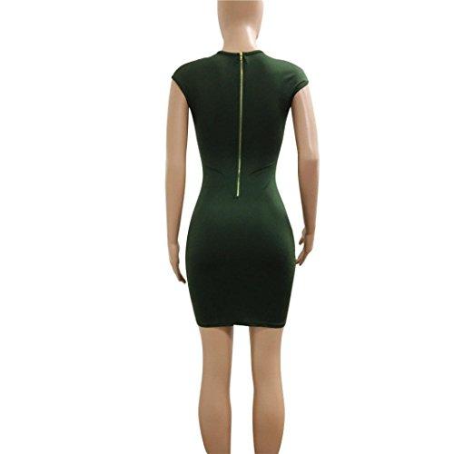 Recorte De del Mujeres Mujer Recorte Playa Fiesta del Cadera del Las del Vestido Las La Atractivo VestidoMini Vestido De Vestidos Mujeres Cortocircuito Atractivo De Verde w104vAqq