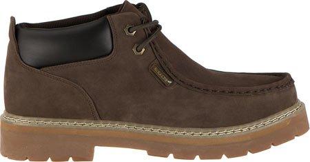 Lugz Men's Garvin WR Thermabuck Boot, Chocolate/Cream/Gum, 7.5 D US