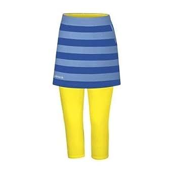 Adidas Taylormade Womens FP Striped Skort (3XL (12), Blue/Royal/Sunburst)