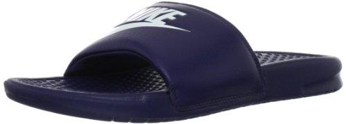 JDI Nike Benassi Midnight Windchill de para hombre Navy Chancletas púrpura BqgwHvnT