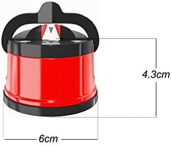 Yolistar Afilador De Cuchillos con Base de Ventosa Antideslizante, Profesional Afilador de Cuchillos Manuales para Todos los Tipos de Cuchillos, 60 x 60x 50 mm