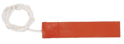Tempco Strip Heater (Strip Heater, 6 In. L, Silicone Rubber)