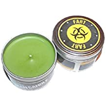 """The Original Man Candle Fart 2.75"""" Tin with 3oz Candle"""