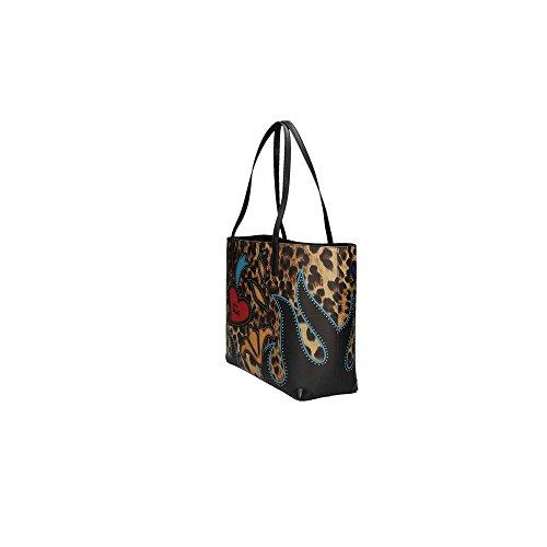 Braccialini 11600 Shopping Bag Mujer Leopardo UNICA Leopardo