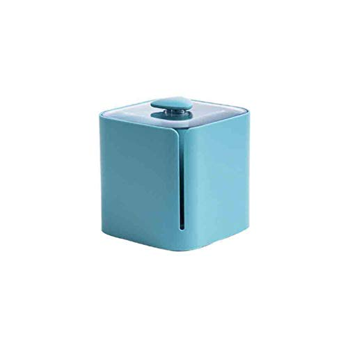 NszzJixo9 Toilet Paper Holders - Roll Paper Box Waterproof Bathroom Punch-Free Toilet Tissue Tray Paper Rack (Light Blue)