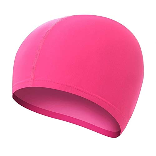 Waterproof Stretch Swimming Cap Long Hair Protection Swim Caps Hat Cover Adult