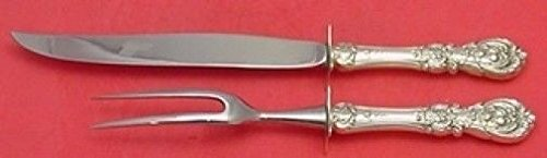 - Francis I by Reed & Barton Sterling Silver Roast Carving Set 2pc