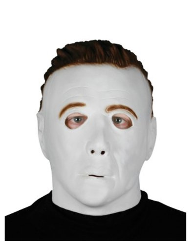 Michael Myers Full Costume (Halloween Costume Accesory, Mens Michael Myers Full Mask, Style 1 by Halloween)