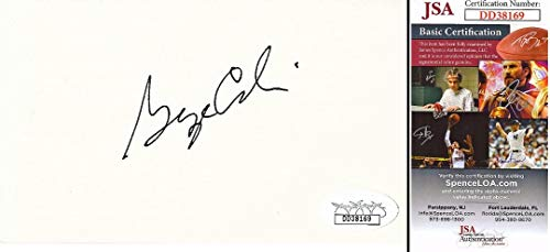 George Carlin Signed - Autographed 3x5 inch Index Card - Stand-Up Comedian - Deceased 2008 - JSA Certificate of Authenticity COA