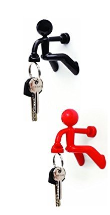 Wonderful Key Pete Strong Magnetic Key Holder Hook Rack Magnet (2 Pack, Red U0026 Black Ideas