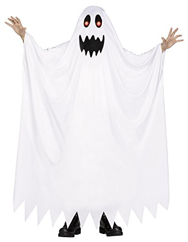 Fun World Kid's Small/Fade in/Out Ghost Children's Costume, Multicolor, Small 115162S -