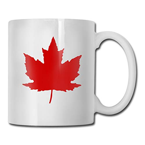 Maple Leaf Fashion Ceramic Mug Coffee Mug For Coffee & Tea Lovers, 11-Ounce