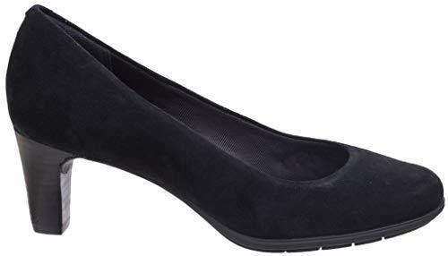 Melora Rockport Shoes Womens Heeled Black Pump Suede Suede Ladies Plain Court rEnr8wF1qB
