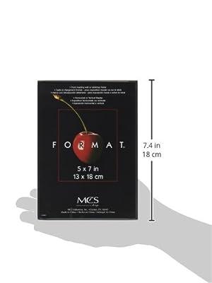"MCS 5"" x 7"" Format Picture Frame - Black"