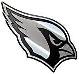 Arizona Cardinals NFL Metal Auto Emblem