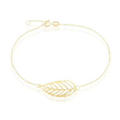 HISTOIRE D'OR - Bracelet Or - Femme - Or jaune 375/1000 - Taille Unique