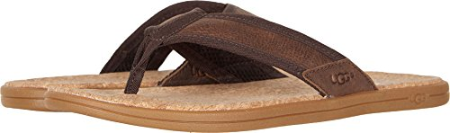 UGG Men's Seaside Flip Flop, Chestnut, 11 M US