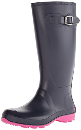 Kamik Women's Olivia Rain Boot, Navy, 9 M US ()