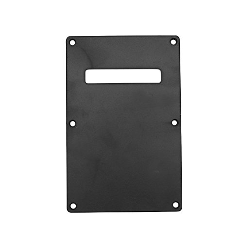 Kocome Single Ply Tortoises Tremolo Cover Backplate For ST Stratocaster Electric Guitar