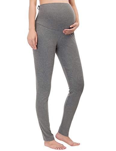 Women Maternity Warm Winter Stretch Trousers Leggings XL Dark ()