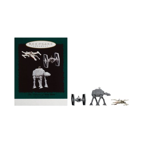 The Vehicles of Star Wars Keepsake Ornaments From Hallmark ()