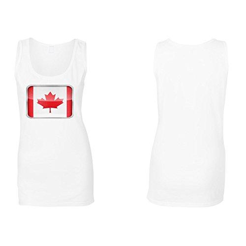 Neue Kanada Flagge Schöne Form Damen Tank top l949ft