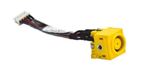 DC-IN Power Jack with Cable For Lenovo IBM Thinkpad T410 T410i T420 T420i T430 T430i Laptop 45M2893 0B41319