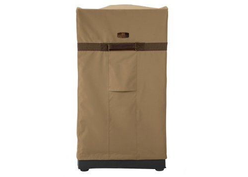 Classic Accessories Hickory Heavy Duty Square Smoker Cover - Rugged Smoker Cover with Advanced Weather Protection, Large (55-046-042401-00)
