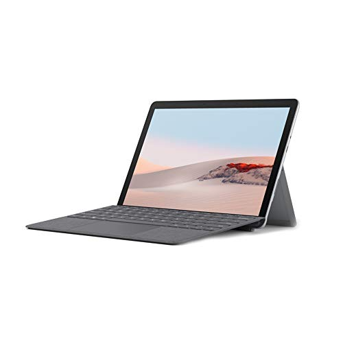 Microsoft Surface GO 2 STQ-00013 10.1-inch Laptop (Gold Processor 4425Y/8GB/128GB SSD/Windows 10 Home in S Mode/Intel UHD 615 Graphics), Platinum