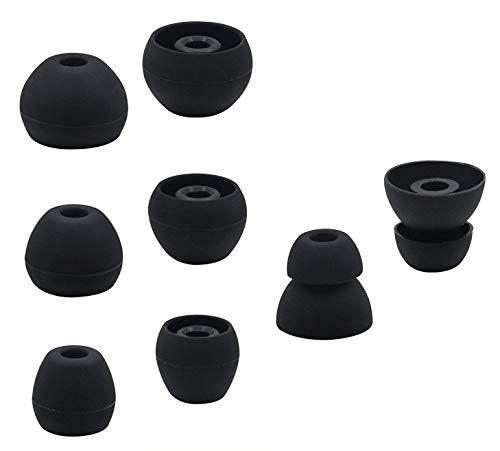 ALXCD Ear Tip for BeatsX In-Ear Headphone, 4 Pair SML & Doub