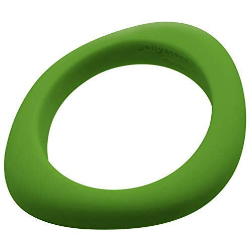 Jellystone Designs Organic Bangle - Silicone Jewelry (Teething/Nursing) (Peapod Green)