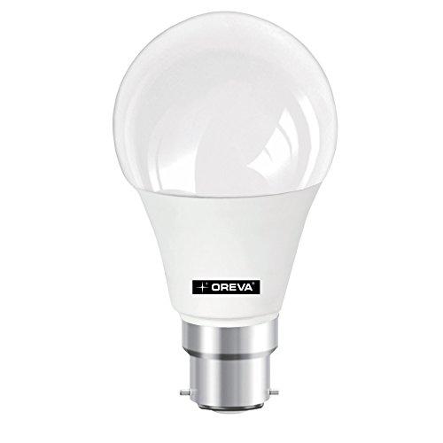 Oreva Premium 9W B22 1175L LED Bulb (White,Pa..